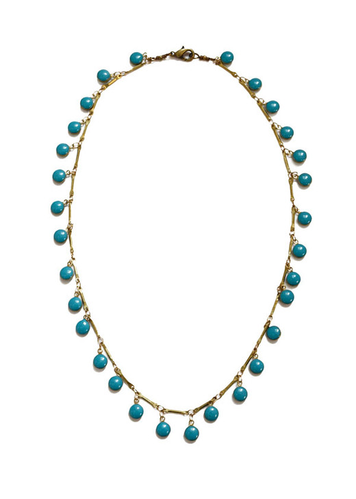 Dancing Dreamer Necklace- Turquoise