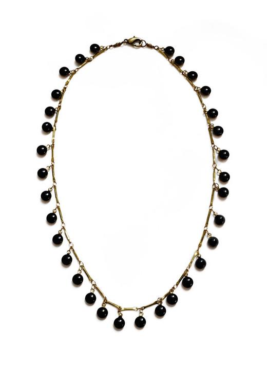 Dancing Dreamer Necklace- Black