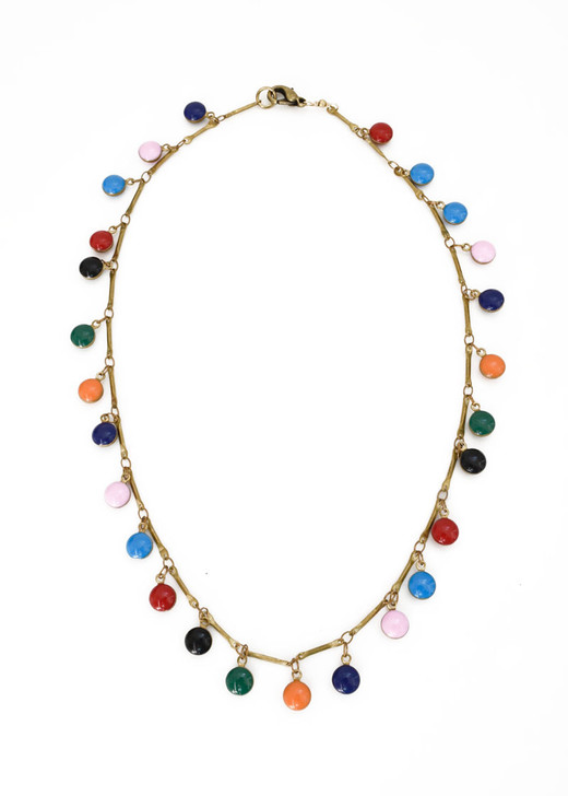 Dancing Dreamer Necklace- Multicolored