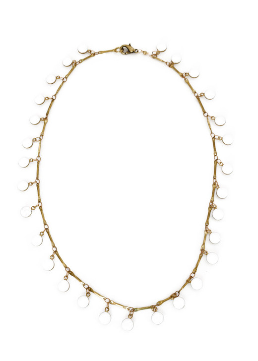 Dancing Dreamer Necklace- White