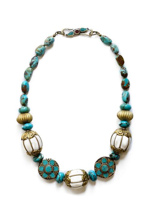 Ipanema Necklace- Turquoise