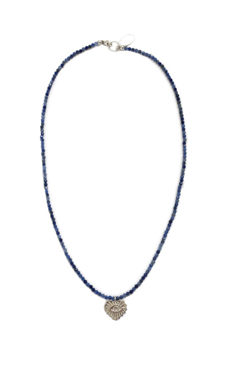 Love Protector Necklace- Lapis