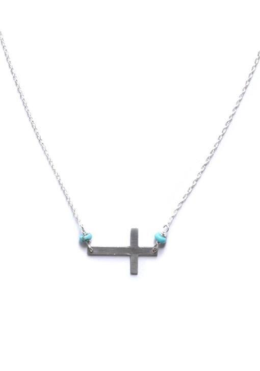 Christa Necklace- Silver