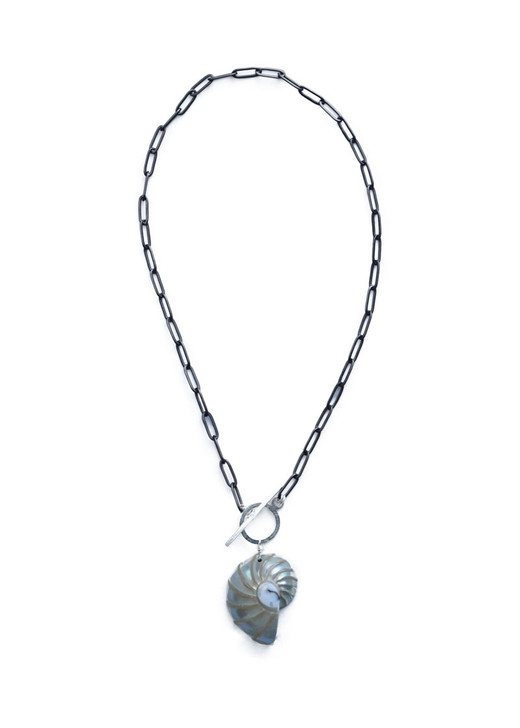 Seabrook Shell Necklace- White