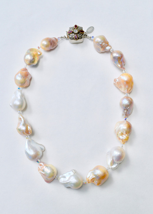 Ultra Baroque Pearl Necklace