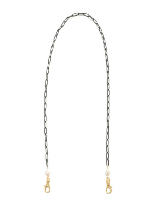 Paperclip Mask Chain- Black Matte