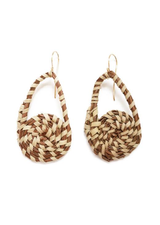 Manie Sweetgrass Earrings