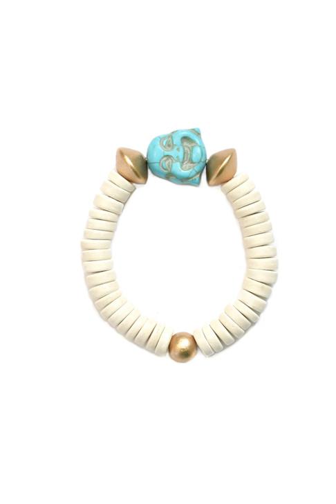 Turquoise Buddah Bracelet