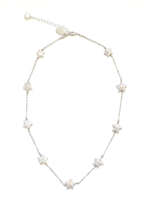 Lucky Stars Necklace- Silver