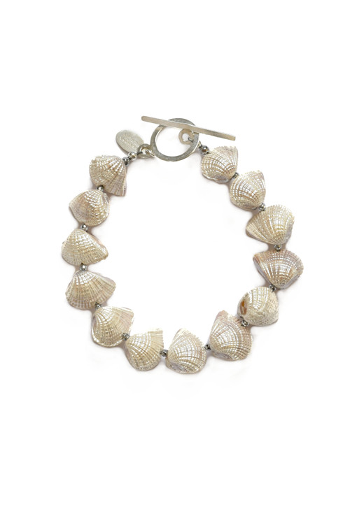 White Luster Shell Bracelet