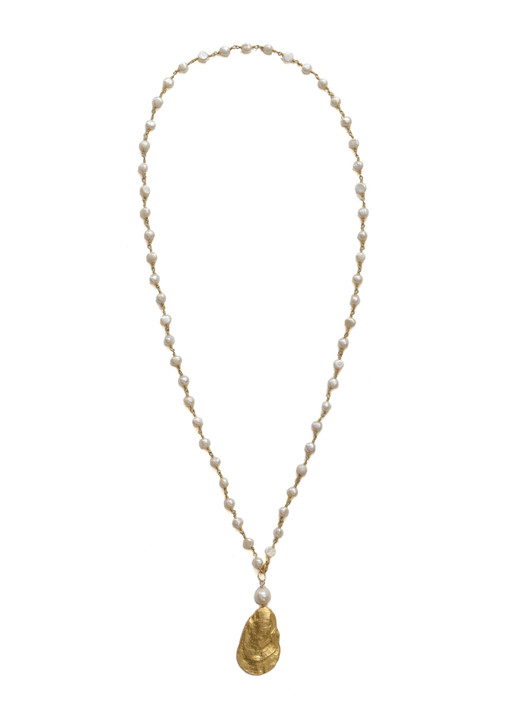 Charleston Oyster Necklace