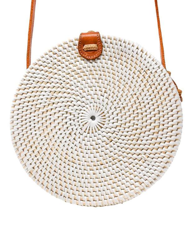 Camilla Crossbody Bag in White