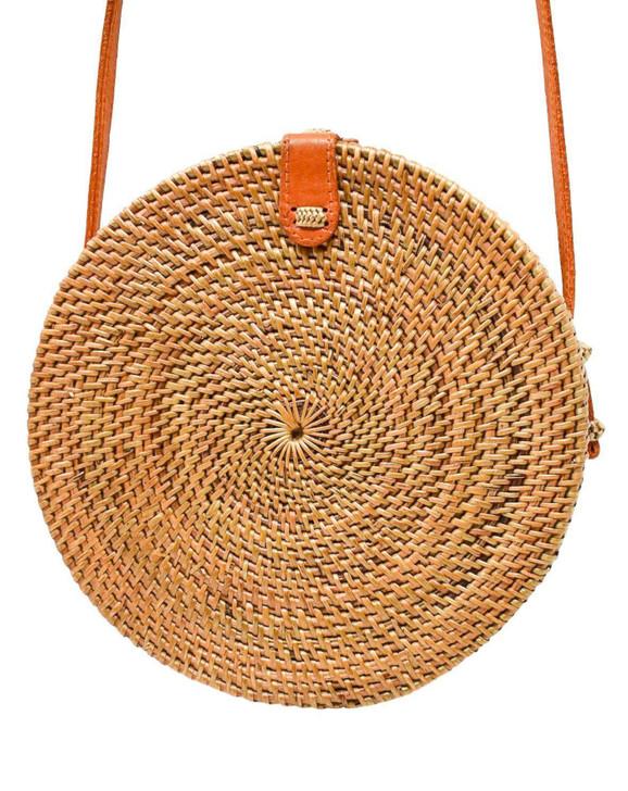 Camilla Crossbody Bag in Brown