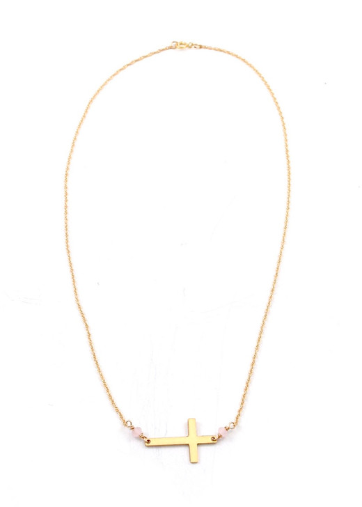 Christa Necklace- Gold