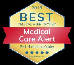 Best medical alert monitoring award Logo