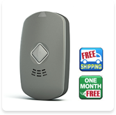 HOME & AWAY ELITE GPS Medical alert system with automatic fall detection.