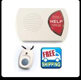 HOME Medical alert system with 2 medical alert buttons
