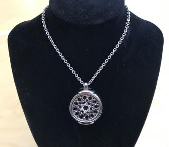 Silver Jewelry Pendant Holder