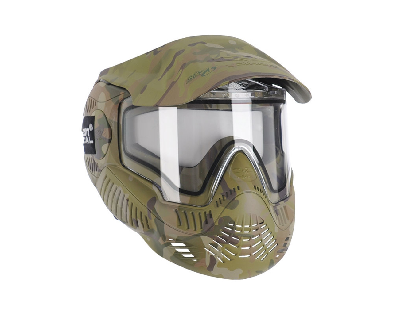 Valken Sly Annex MI-7 Black with thermal anti-fog clear Lens Goggle Mask NEW