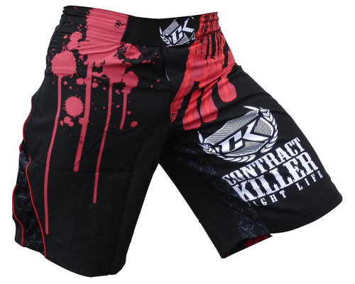 Contract Killer MMA Grappling Shorts - Hybrid Stained