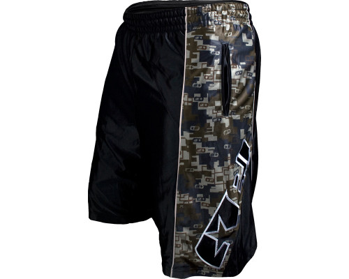Planet Eclipse Athletic Shorts - Chrome