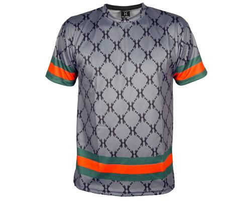 HK Army T-Shirt - HH Grey Dri Fit