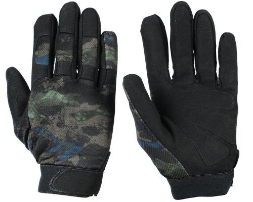 Warrior Tournament Gloves - Acid Green