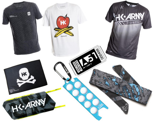 HK Army Apparel Package Kit - Happy Package 2020