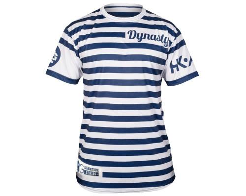 HK Army T-Shirt - Ryan Greenspan Nautical White/Blue Dri Fit