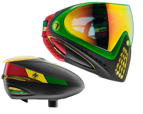Dye i4 Paintball Mask and R2 Hopper Package