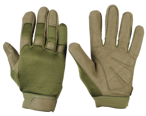 Warrior Tournament Gloves - Olive