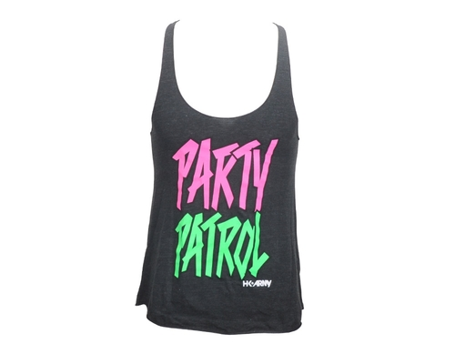 HK Army Girls Tank Top - Party Patrol Racerback