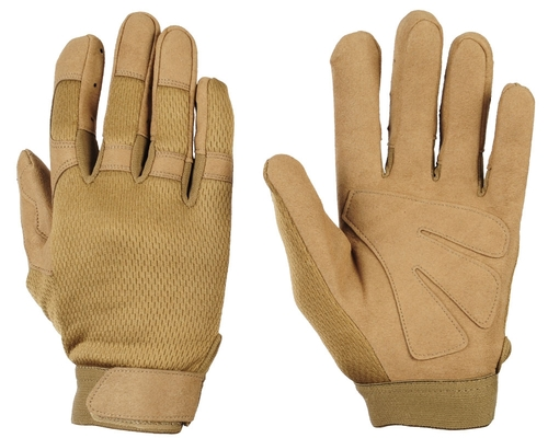 Warrior Tournament Gloves - Tan