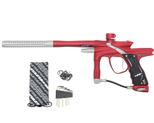JT Impulse Paintball Marker - Dust Red/Dust Silver