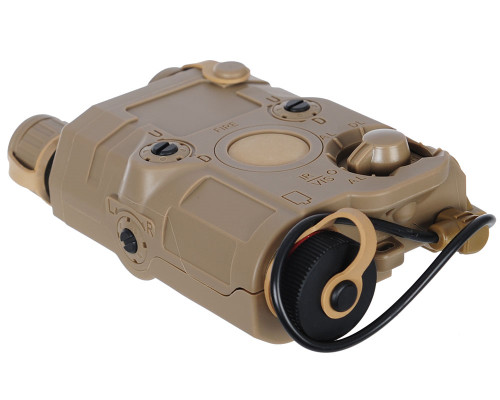 Vega Force Company Airsoft Flashlight & Laser - PEQ15 (FDE)
