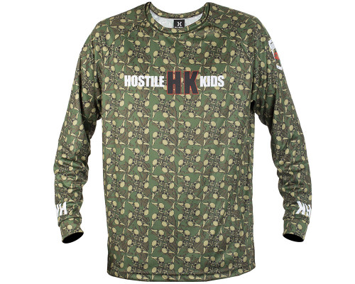 HK Army Dry Fit Jersey - Long Sleeve - OG Series