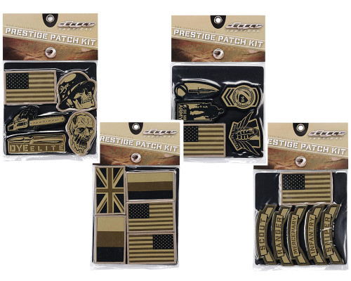 Dye Prestige Tactical Velcro Patch Set