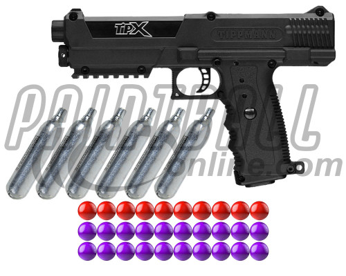 Tippmann Gun Kit Level 1 w/ PepperBalls® - TiPX Pistol