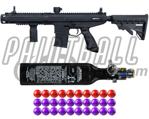 Tippmann Gun Kit Level 2 w/ PepperBalls® - Stormer Elite Dual Fed