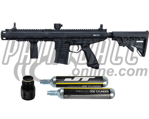 Tippmann Gun Kit Level 3 w/ PepperBalls® - Stormer Elite Dual Fed