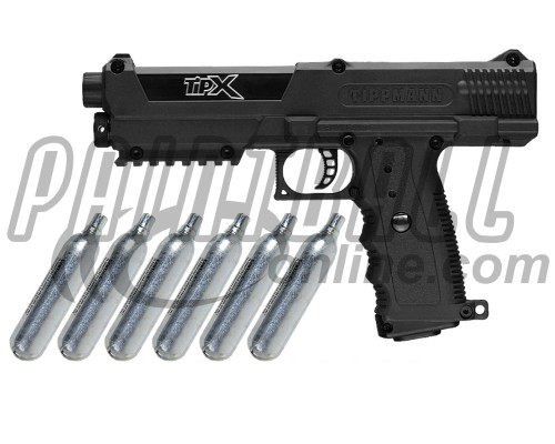 Tippmann Gun Kit Level 3 w/ PepperBalls® - TiPX Pistol
