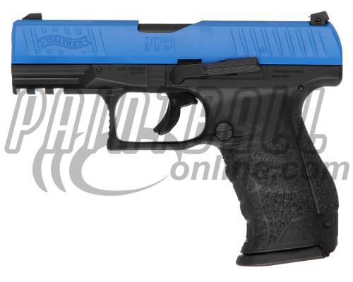 T4E Gun - Walther PPQ M2 LE Training Pistol w/ Extra Magazine .43 Caliber - Blue/Black