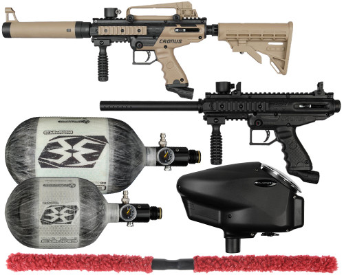 Tippmann Gun Package Kit - Cronus Basic & Tactical - Competition