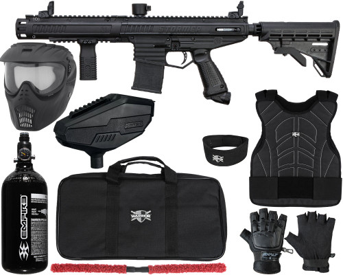 Tippmann Gun Package Kit - Stormer Elite Dual Fed - Level 1 Protector