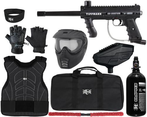 Tippmann Gun Package Kit - 98 Custom Ultra Basic Platinum Series - Level 1 Protector