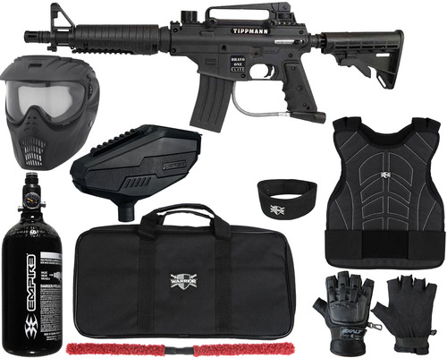 Tippmann Gun Package Kit - Bravo One Elite Tactical - Level 1 Protector