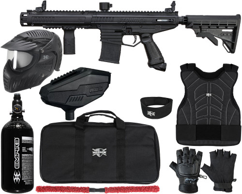 Tippmann Gun Package Kit - Stormer Elite Dual Fed - Level 2 Protector