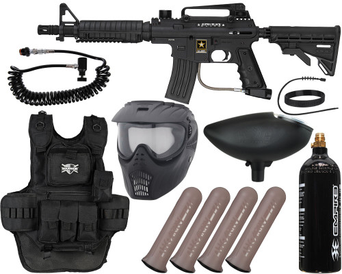 Tippmann Gun Package Kit - Alpha Black Elite Tactical - Heavy Gunner