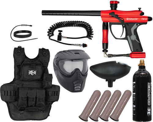 Kingman Gun Package Kit - Spyder Fenix - Heavy Gunner