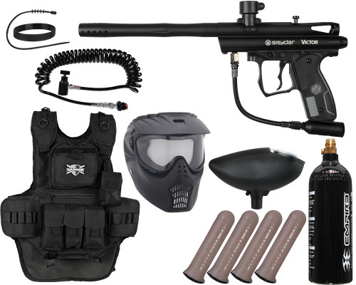 Kingman Gun Package Kit - Spyder Victor - Heavy Gunner
